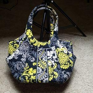 """Vera Bradley """"Baroque"""" Retired Shoulder Bag"""